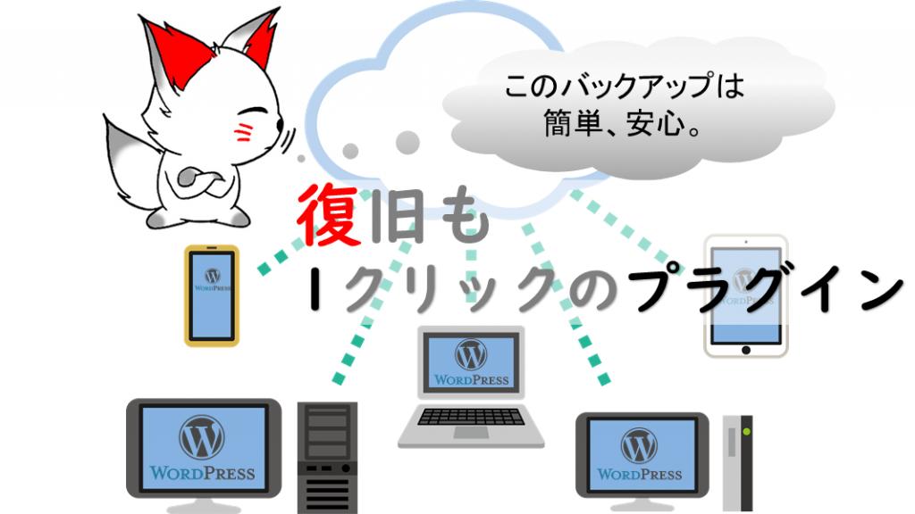 WordPressのバックアッププラグイン